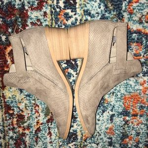 Shoes - Short heeled booties!- Used Once!